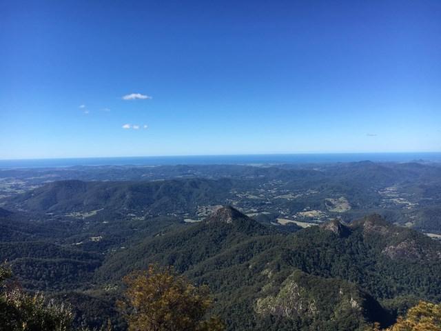 mt warning summit trail